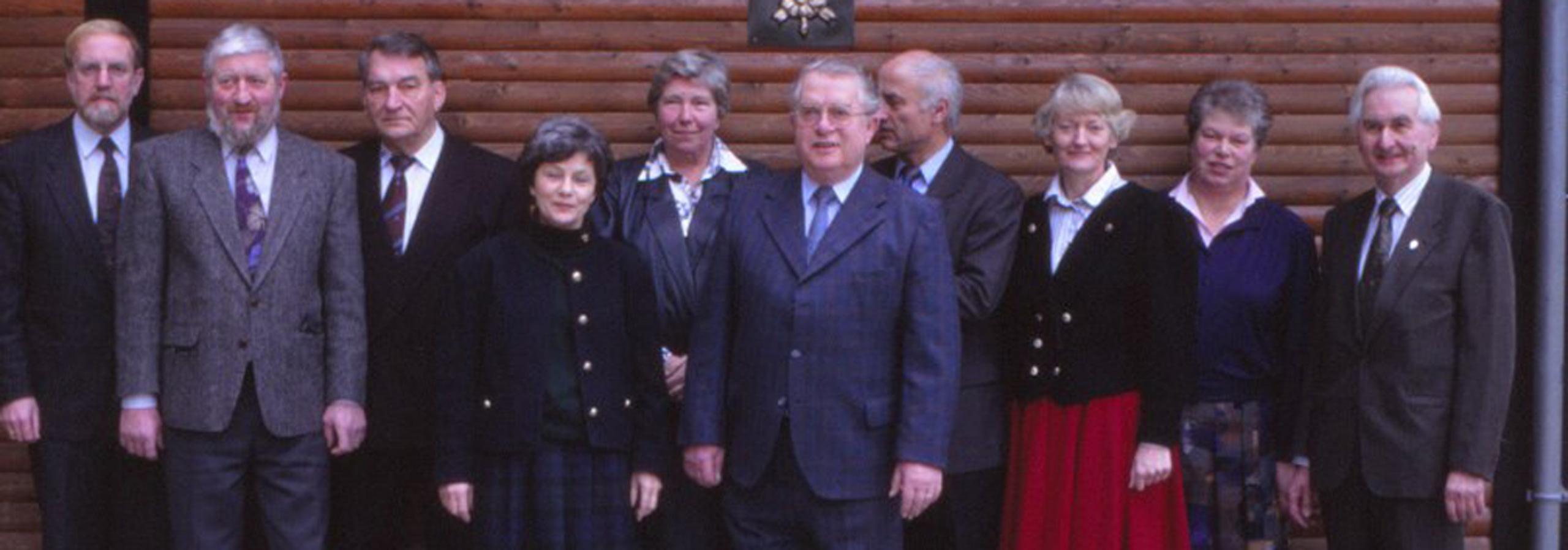 Der Vorstand 1991 der SGV Abteilung Hilchenbach